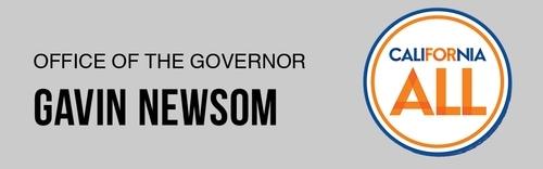 banner California governor