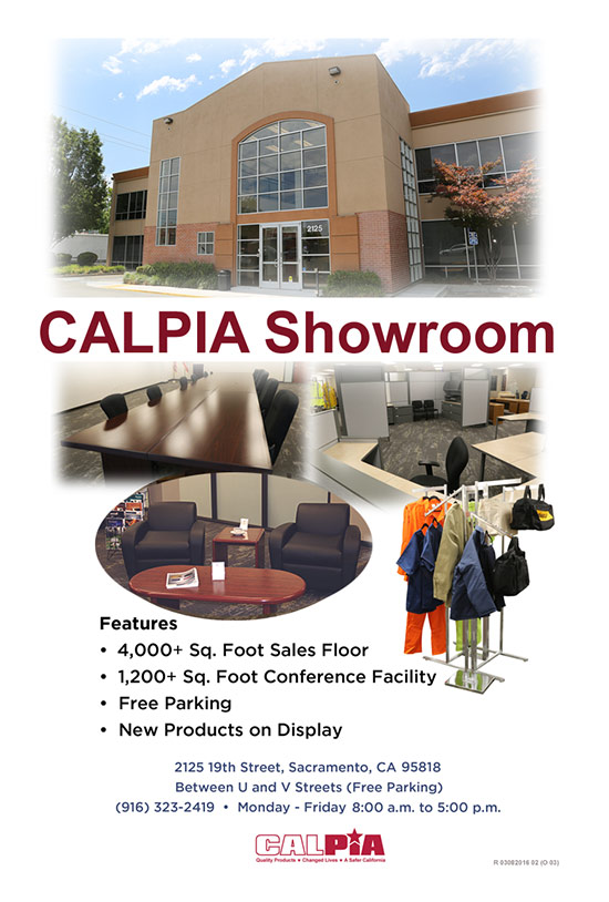 CALPIA Showroom