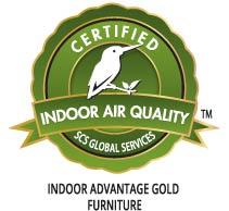 Indoor advantage gold furniture logo